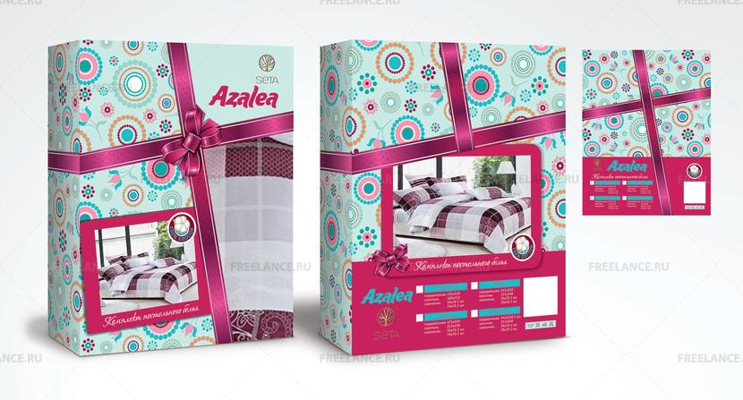 Дизайн упаковок постельного белья