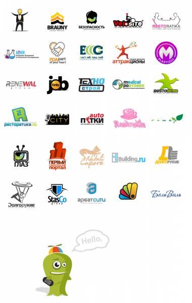 лого: