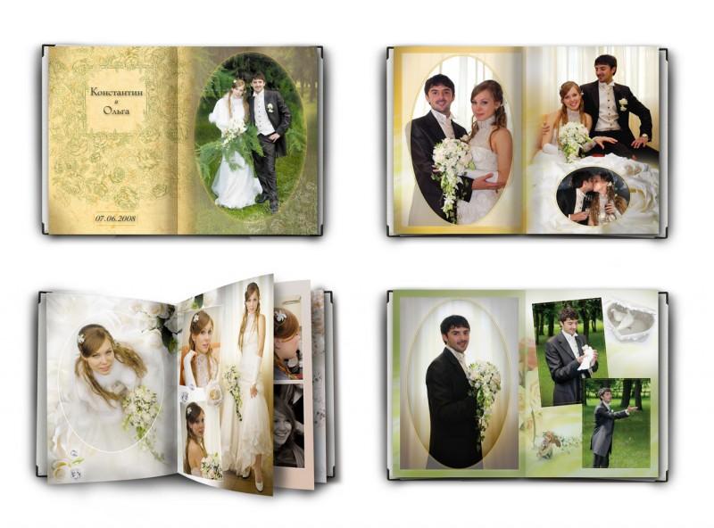 Свадебный фотоальбом дизайн