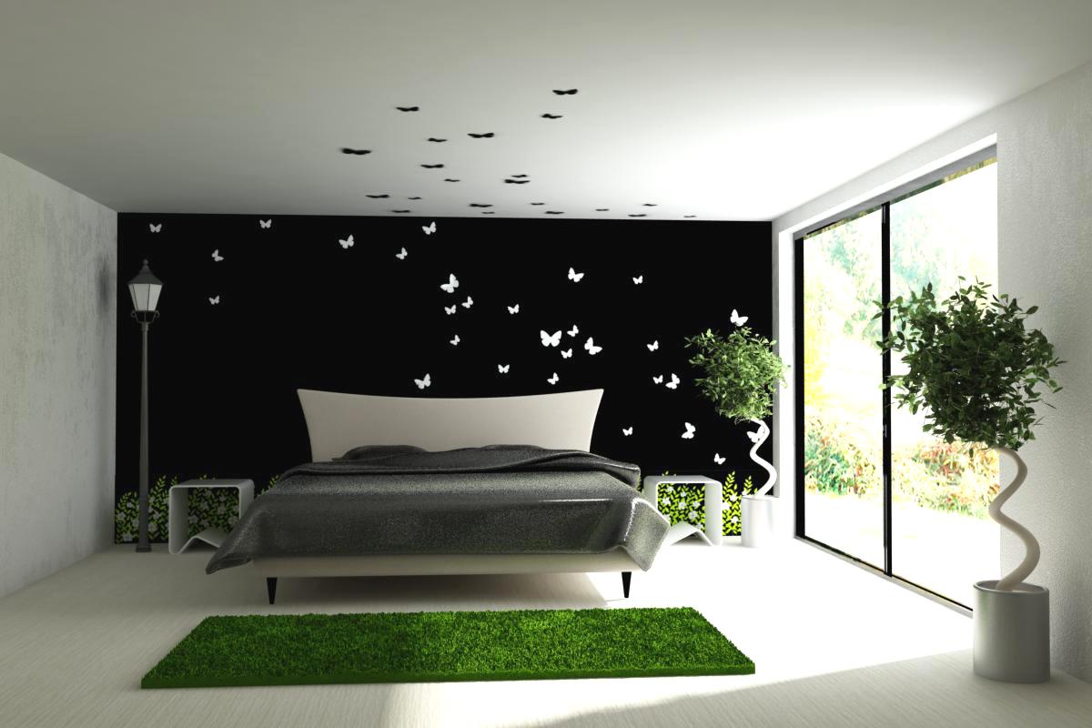 Интерьер спальня минимализм