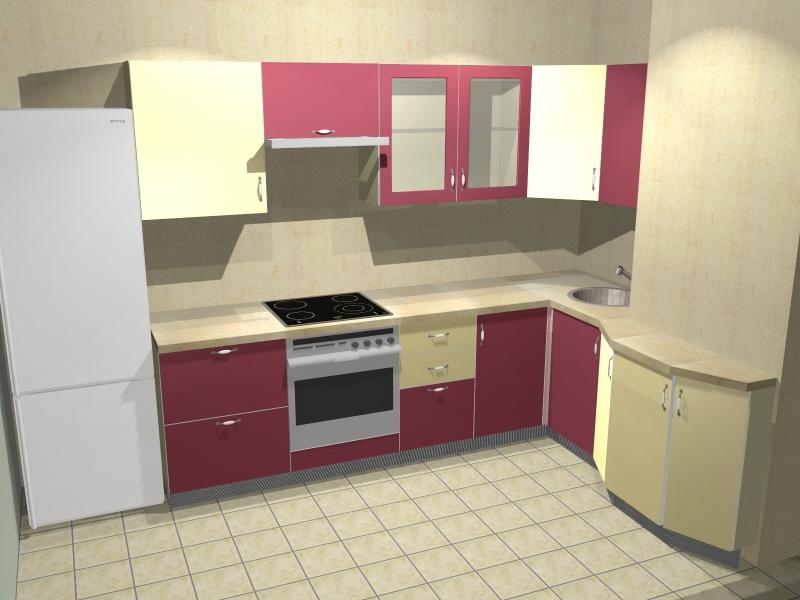 Кухни в домах п-44 фото