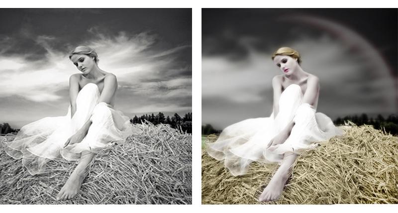 Обработка черно-белой фотографии - Фрилансер Илона Chochi ...: http://freelance.ru/users/Chochi/?work=700166