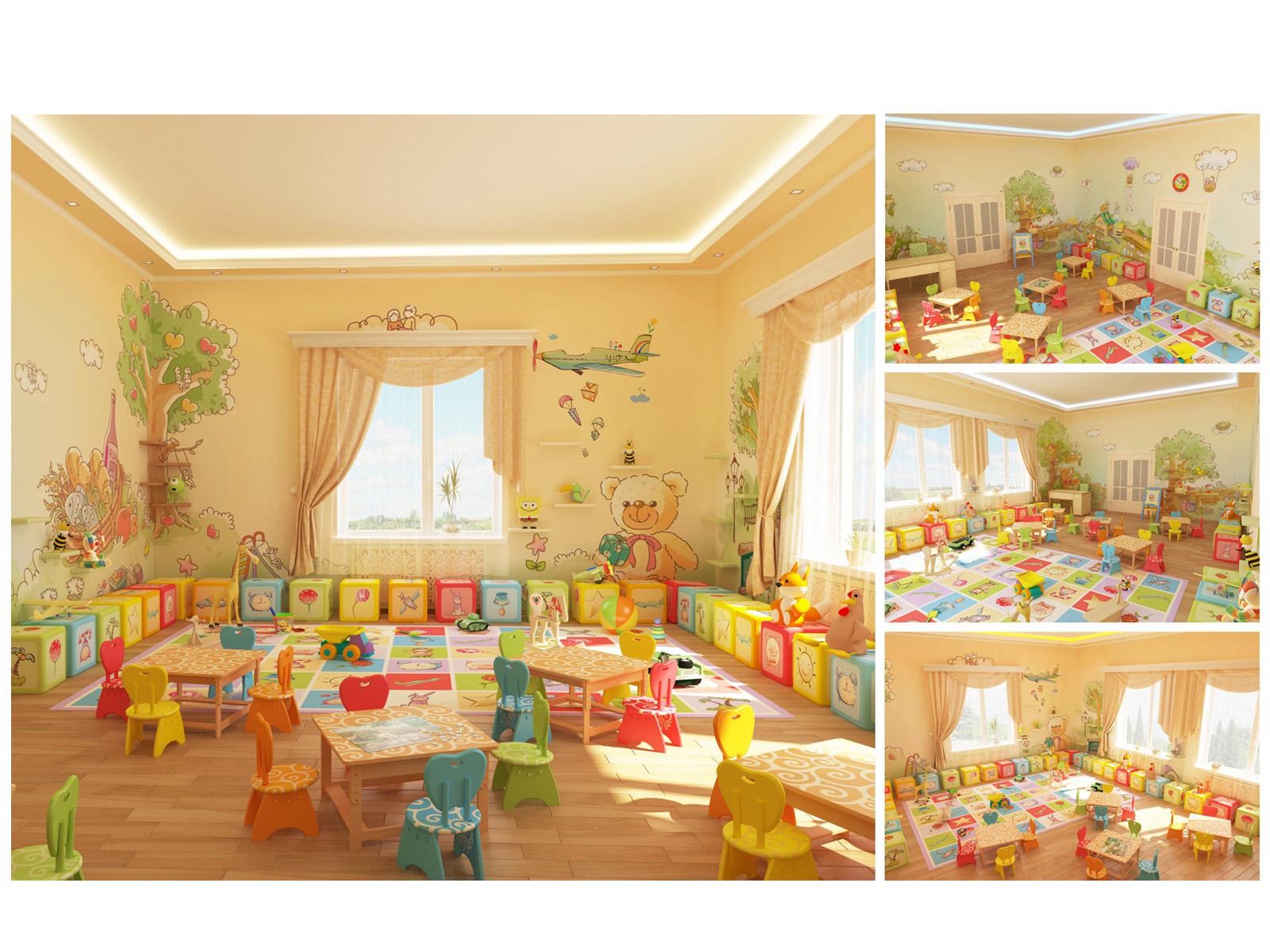 Оформление игровой комнаты в детском саду фото своими руками 7
