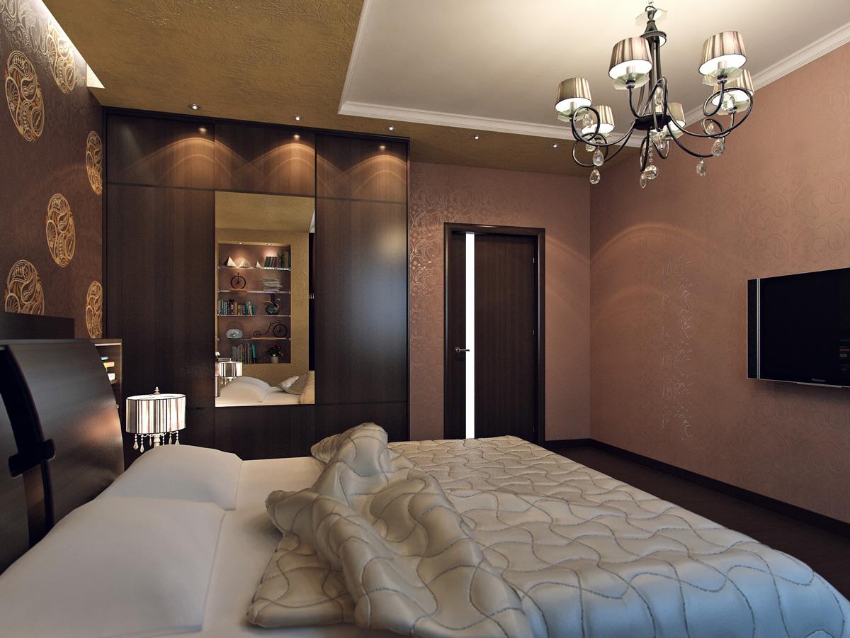 Спальня на 10 кв.м фото дизайн