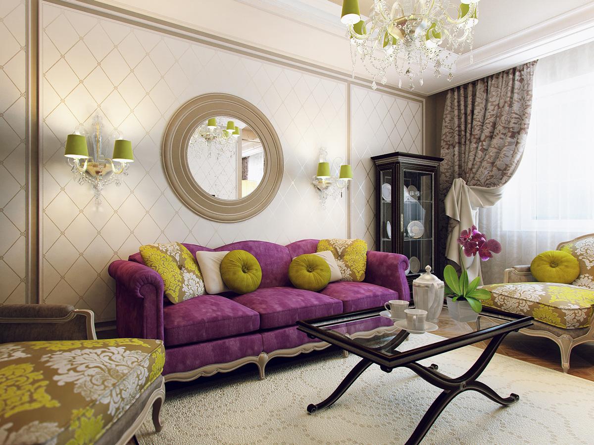 Оформление стены над диваном в гостиной фото своими руками