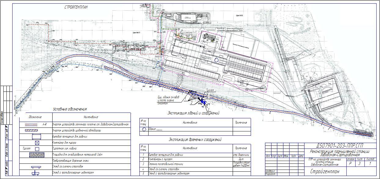 Схема снабжения трассы дорожно строительными материалами 39