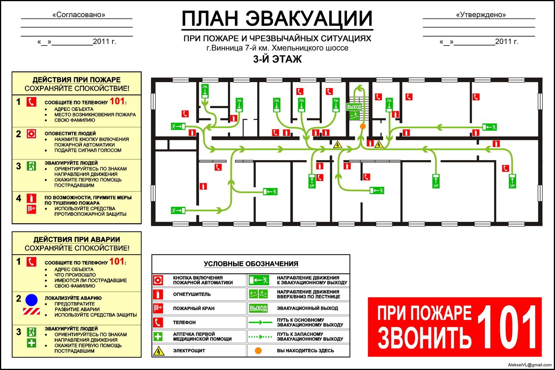 Кто должен согласовывать планы эвакуации ОБСУЖДЕНИЯ01ru