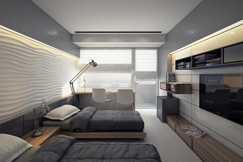 Дизайн номера гостиничного