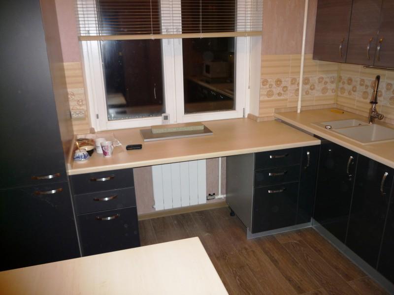 Дизайн кухни с мойкой под окном дизайн кухни - фото, описани.