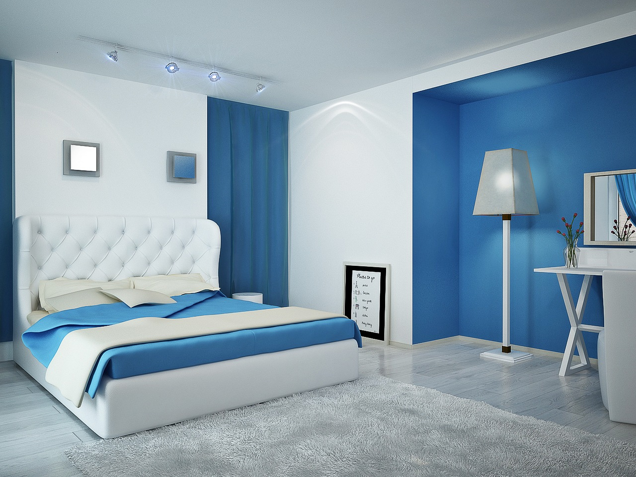 blue bedroom color popular - photo #48