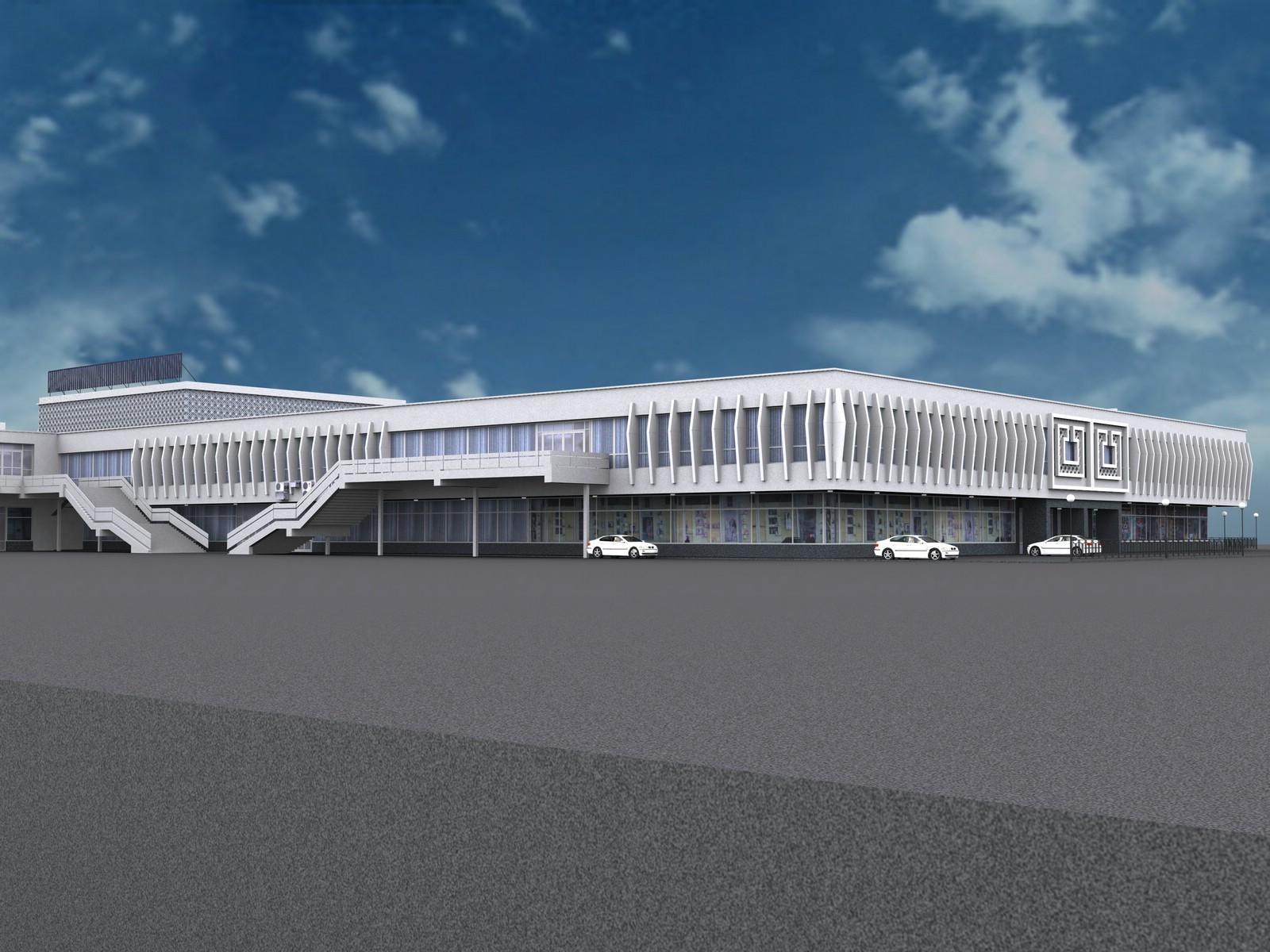 3D-модель здания
