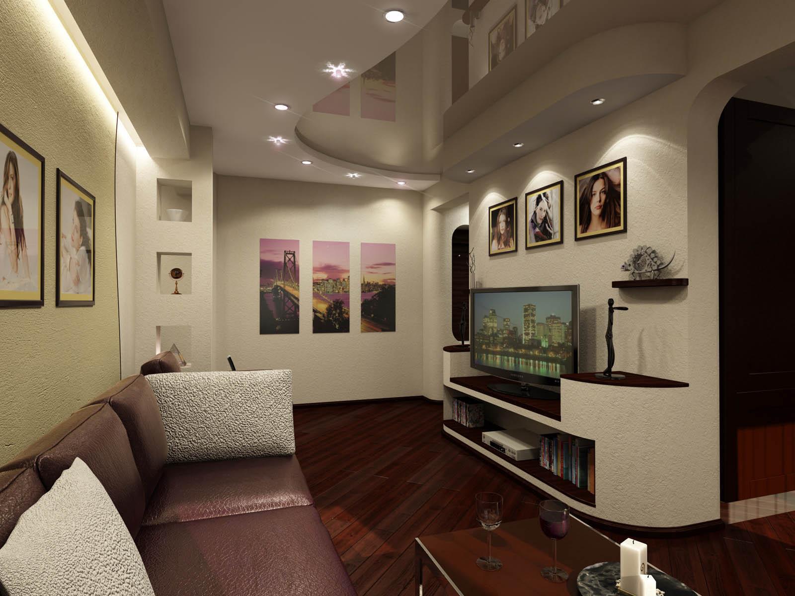 дизайн коридор гостиная фото