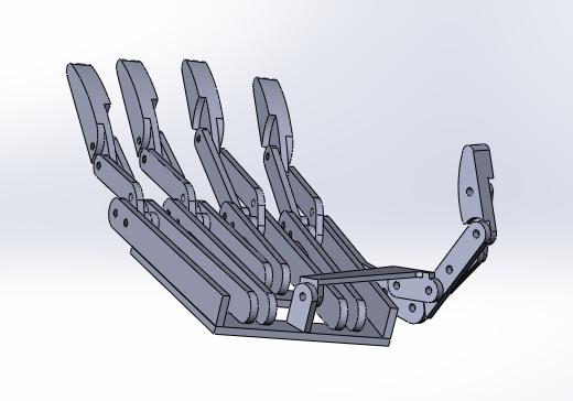 Механическая рука из дерева своими руками чертежи