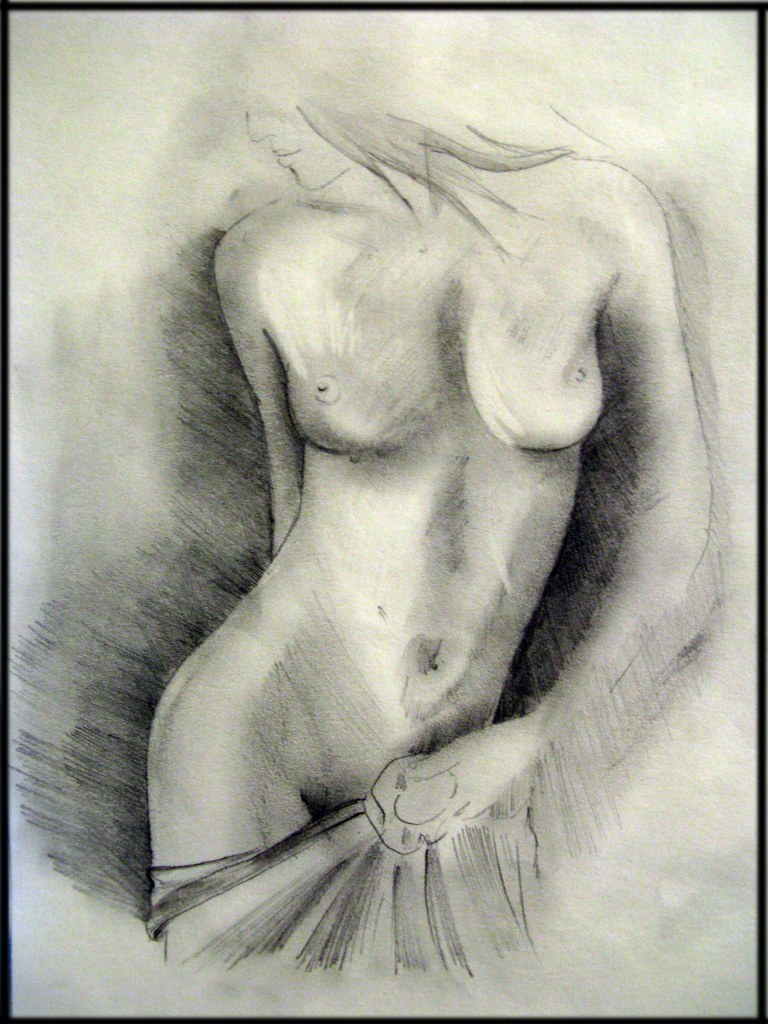 голые девушки рисунок