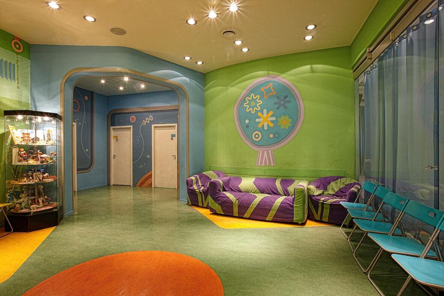 Дизайны детских клубов