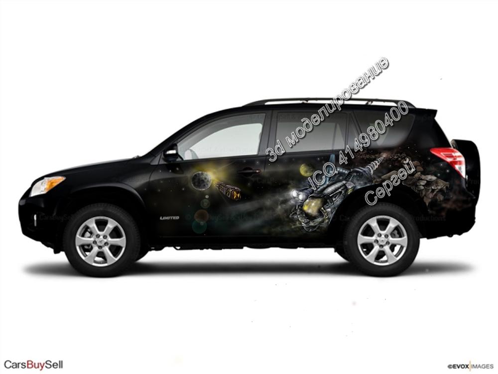 аэрография на автомобилях эскизы: