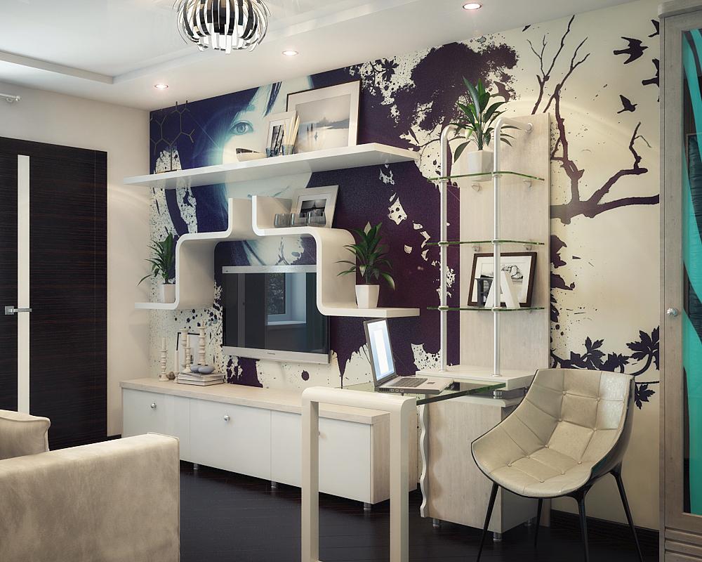 Дизайн интерьера комната для девушки