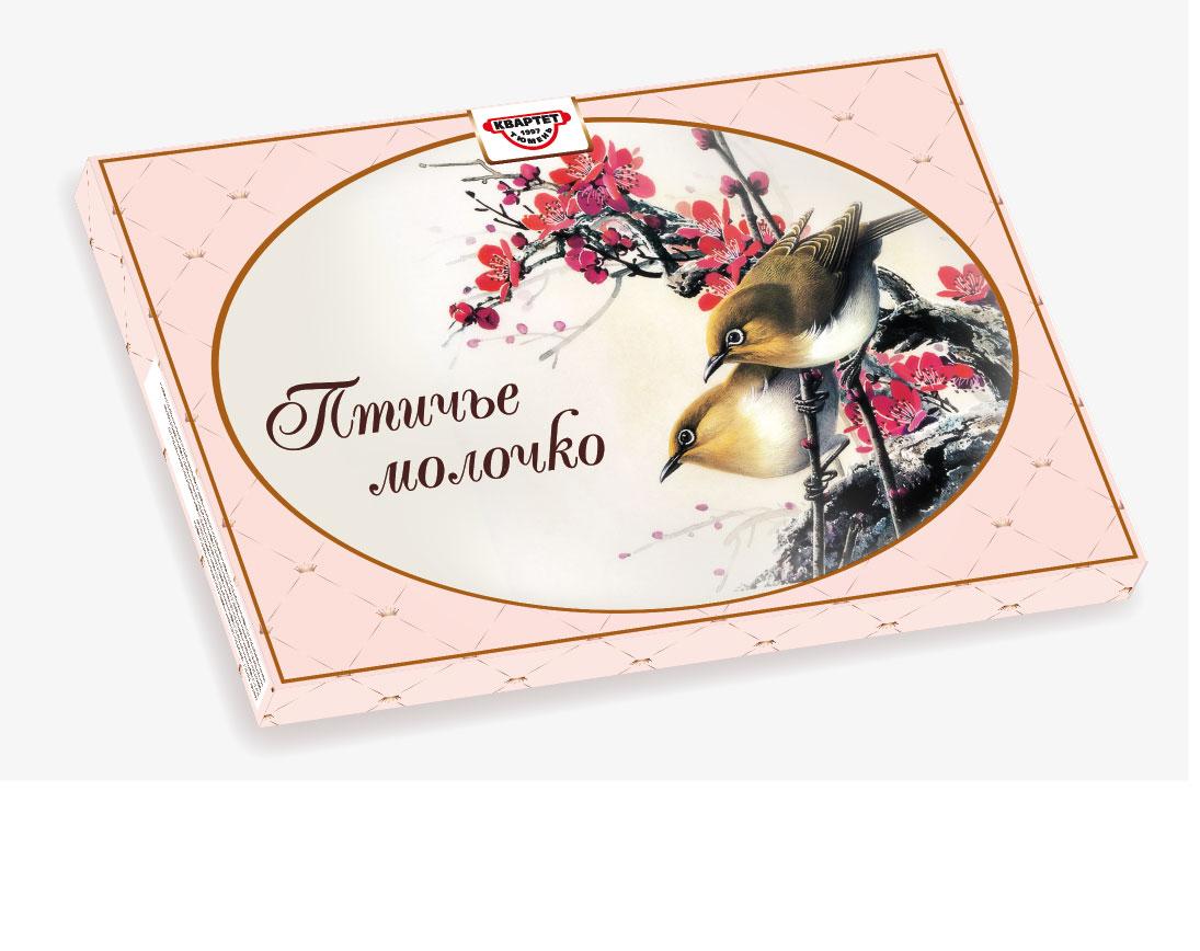 Коробка для конфет птичье молоко