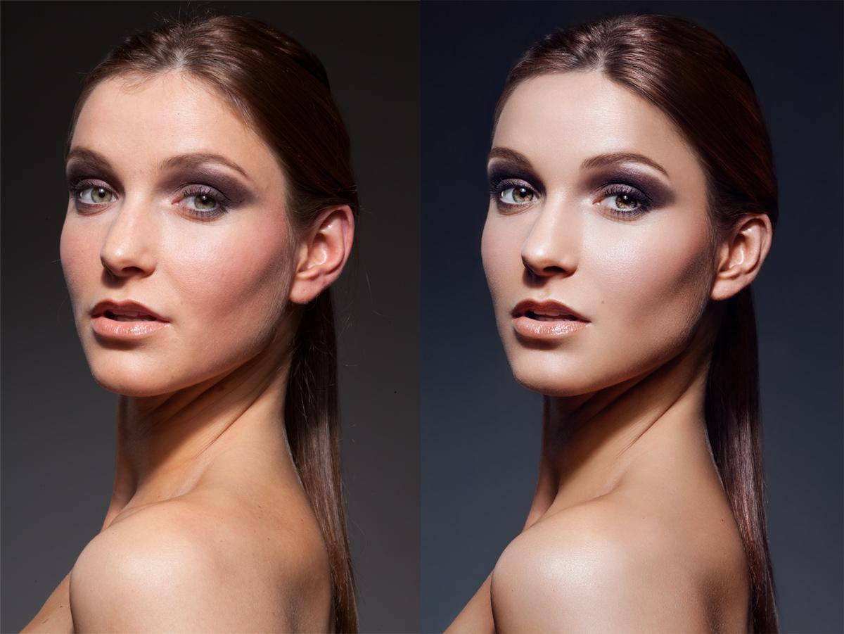 В какой программе обработка фото лица