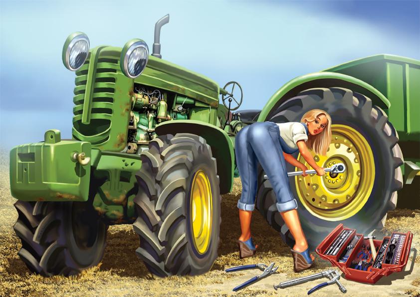 Купить тракторы и запчасти для тракторов в Кирове по.