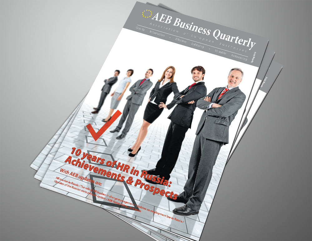 AEB Business Quarterly Magazine