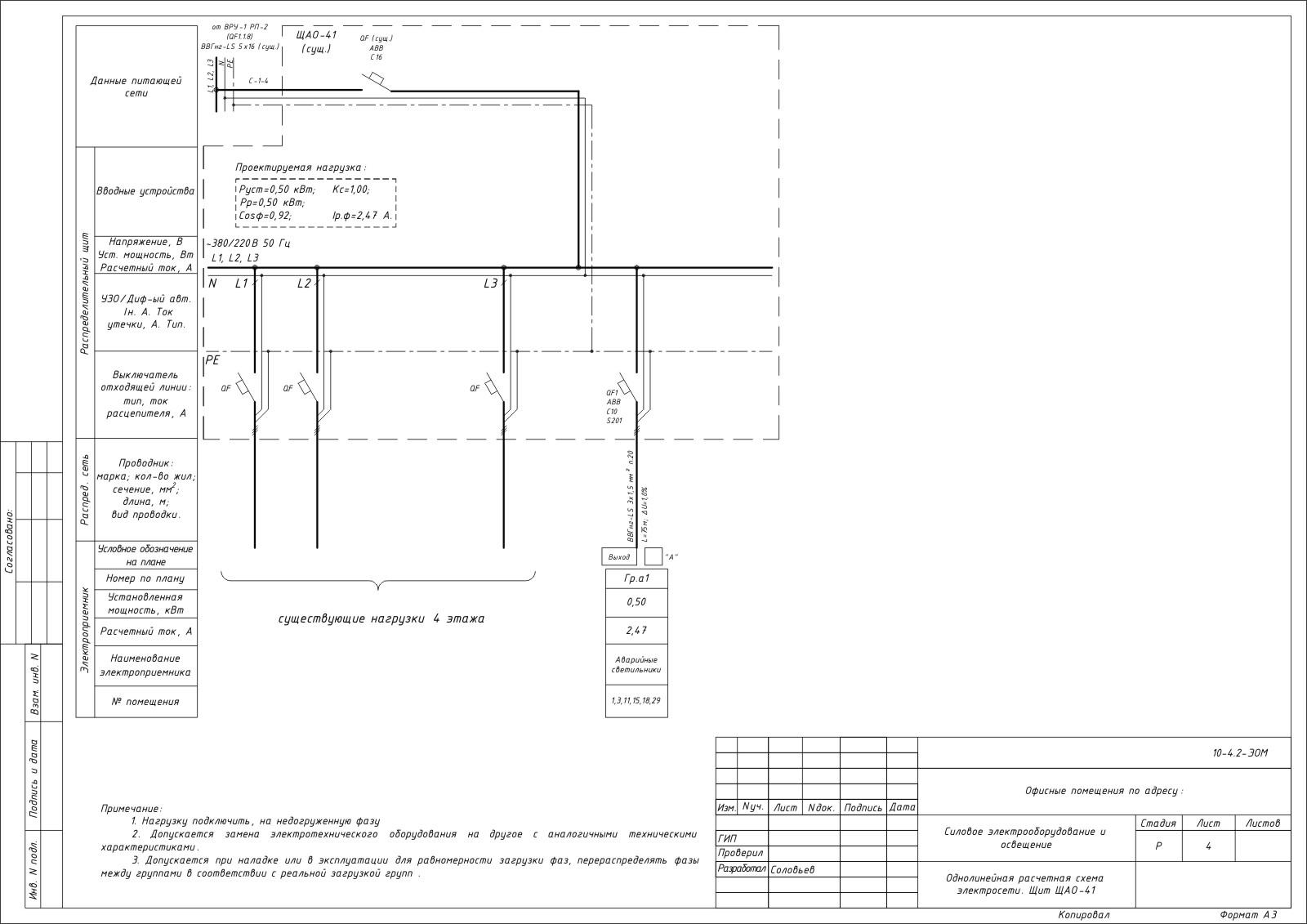 Проект электроснабжения разработка  Компания СтройПроект