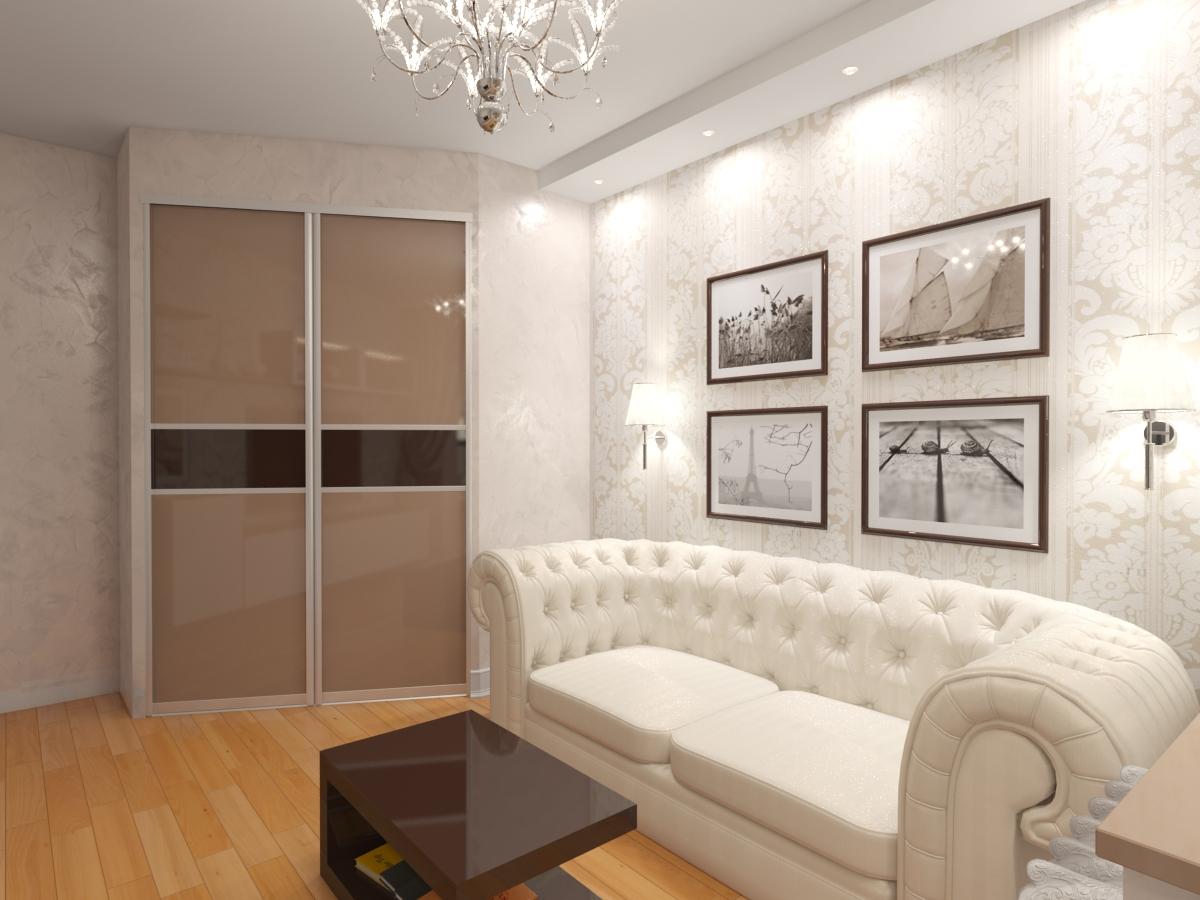 Гостиная в квартире серии п44т - фрилансер оксана савчук art.