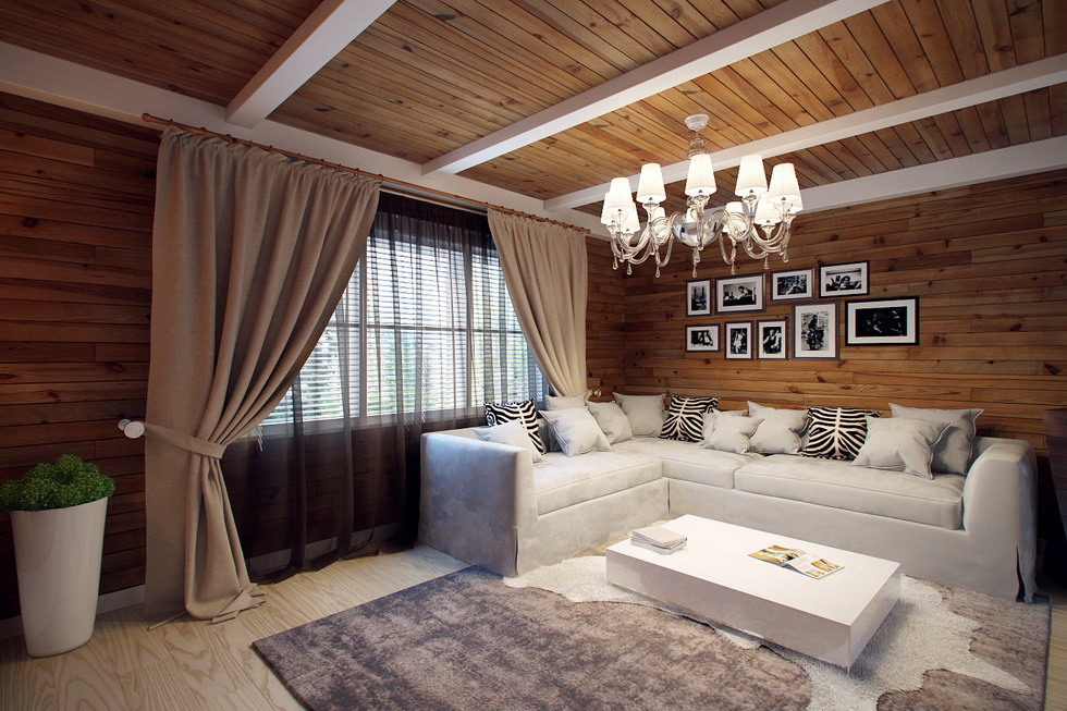 Дизайн дома внутри портфолио