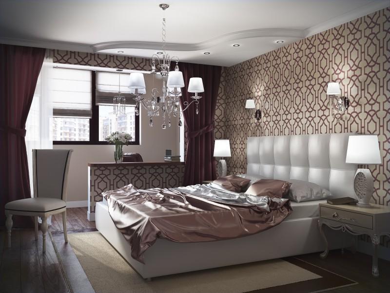 Ремонт спальни с балконом п3. - дизайнерские решения - катал.