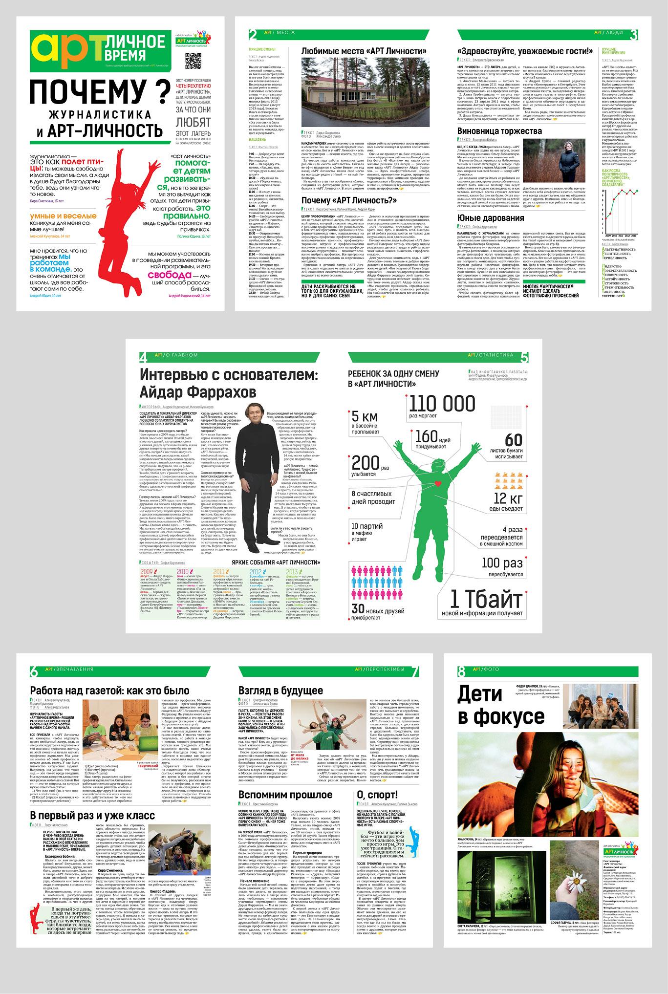 Как сделать макет газеты на компьютере