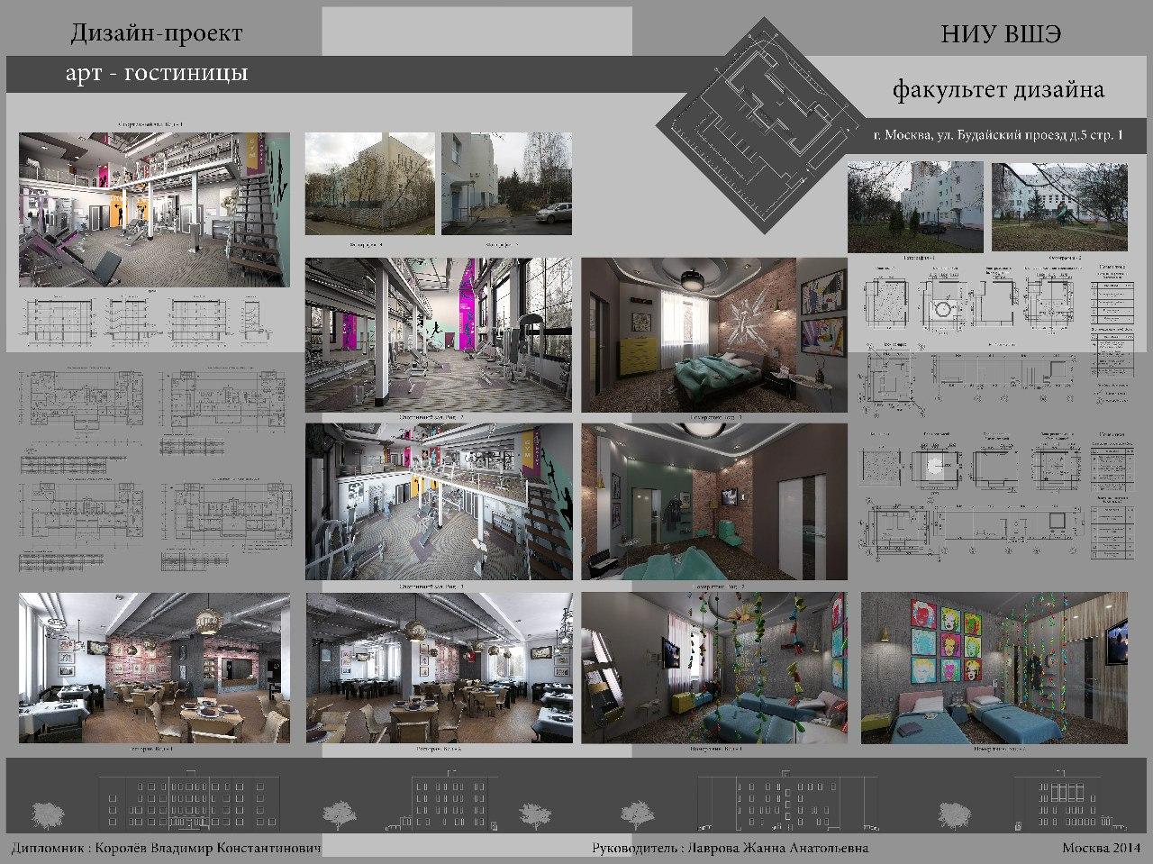 Дипломный проект арт гостиница планшет Фрилансер Владимир  Дипломный проект арт гостиница планшет