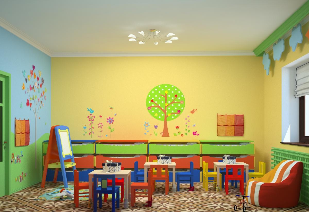 Детский сад фото интерьер