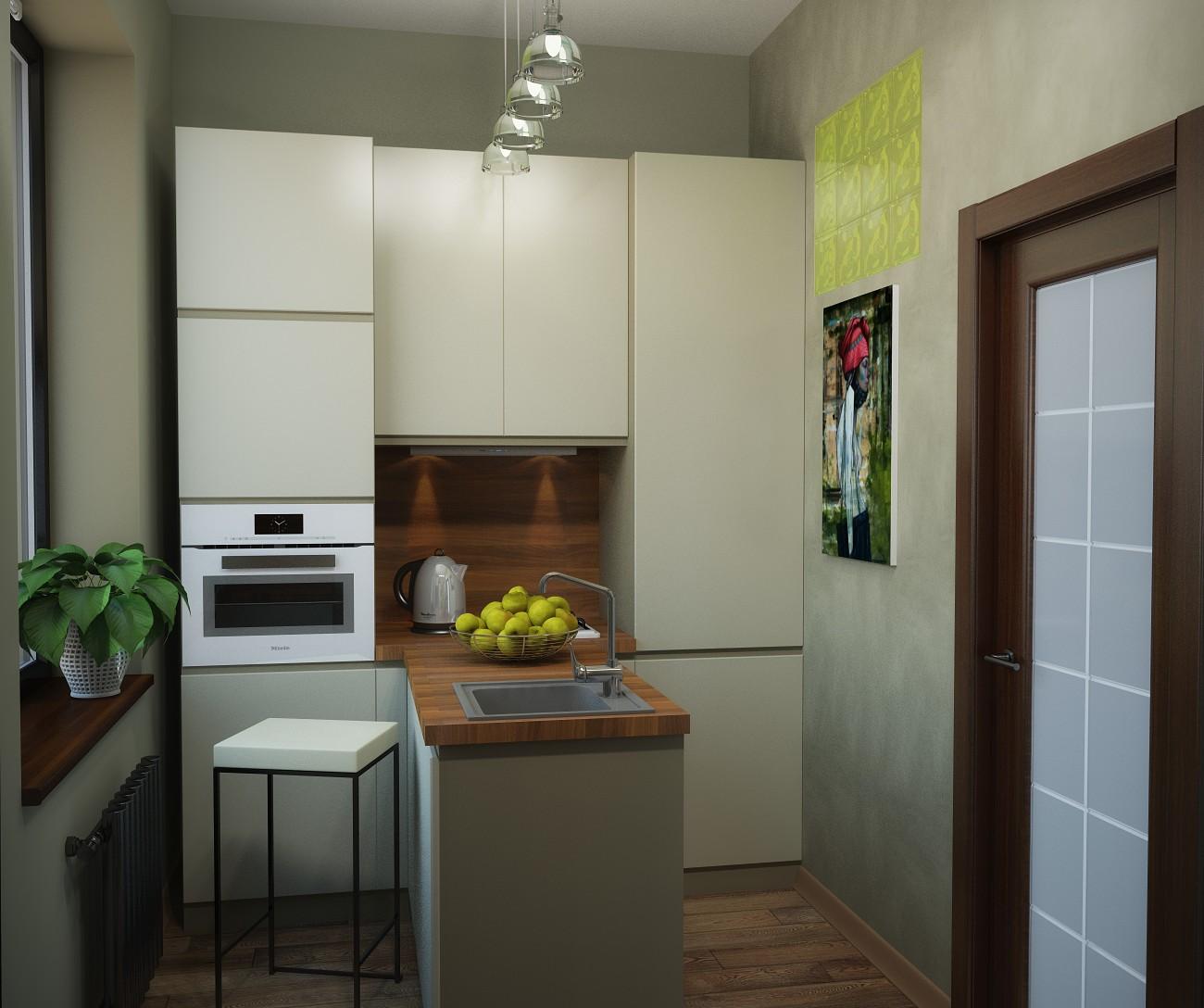 фото кухня в сталинке
