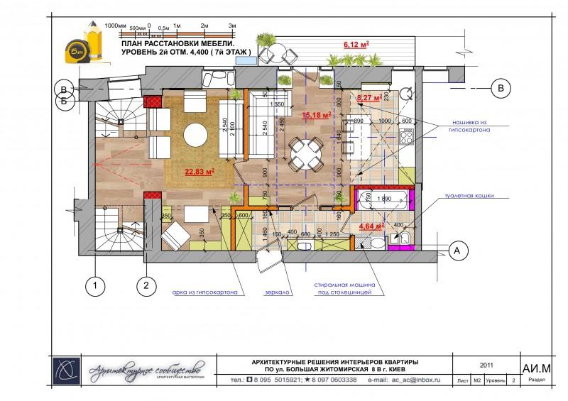 Архитектурно-планировочное решение в интерьере