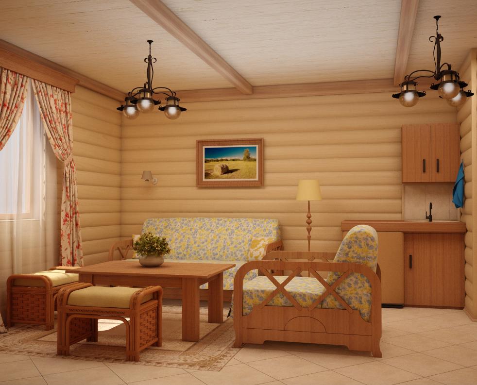 Дизайн своими руками комнаты отдыха