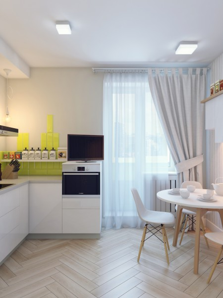 Дизайн квартиры однокомнатной м.кв