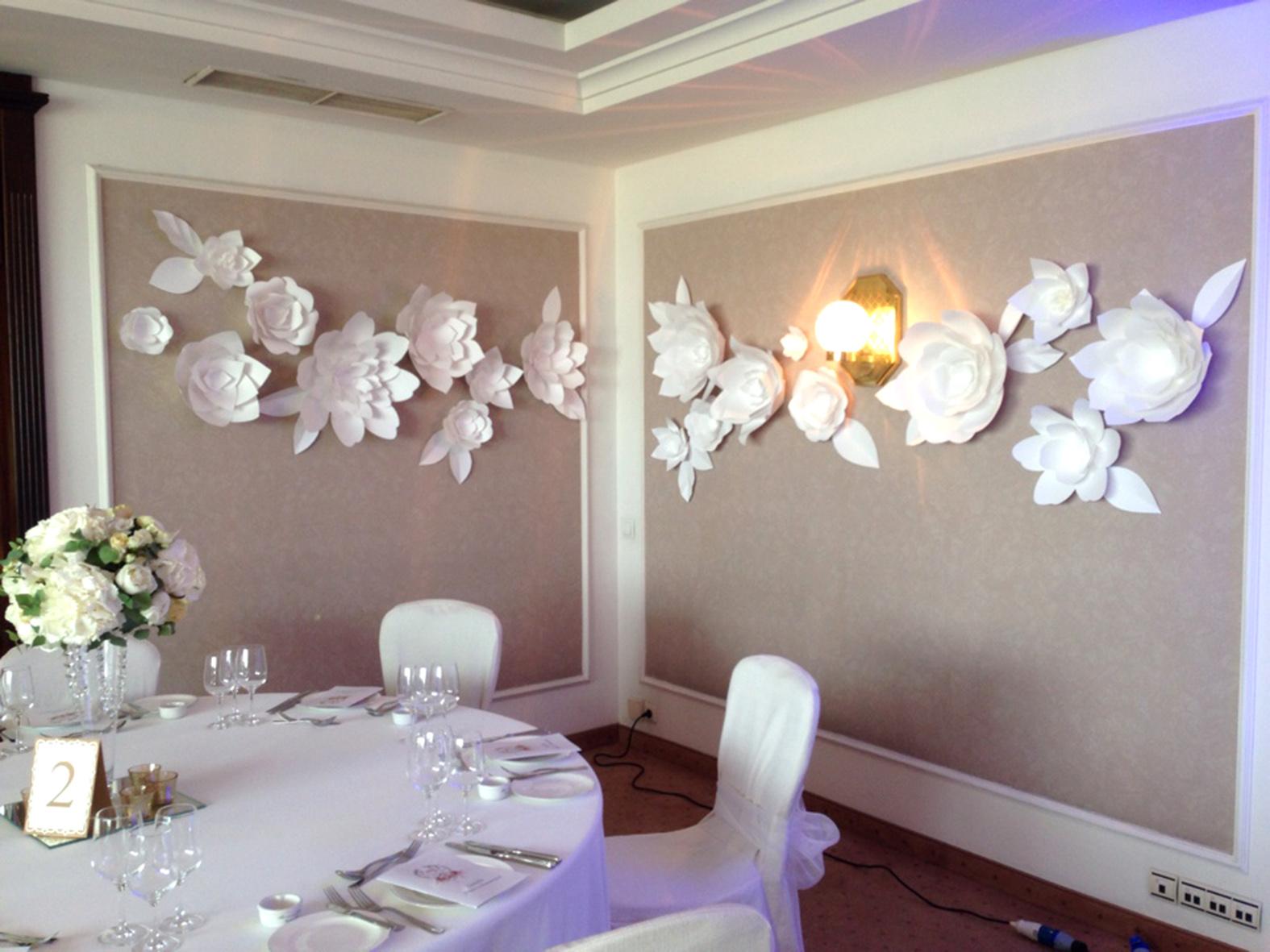 Украшения на бумажную свадьбу фото