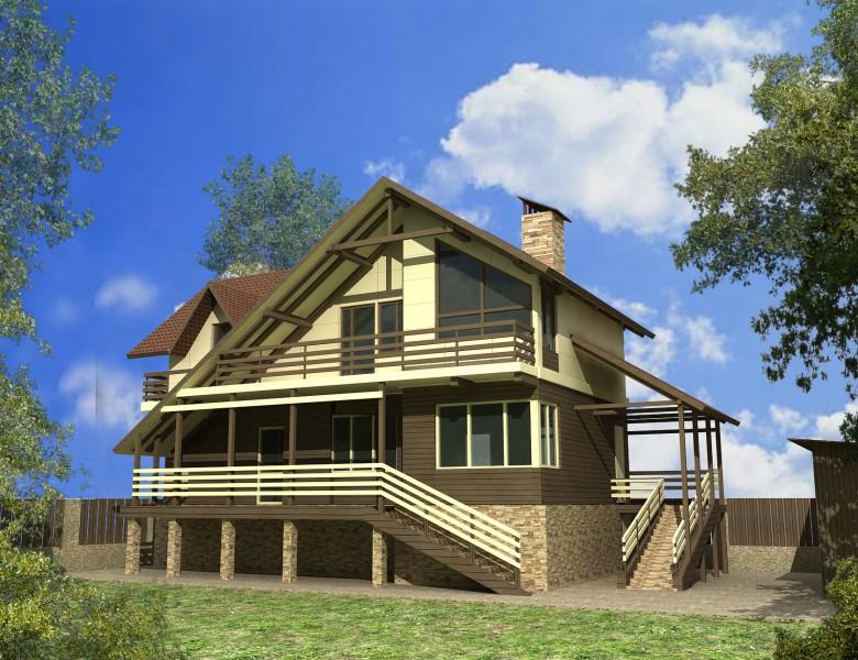 Проекты домов от 150 м2 с фото