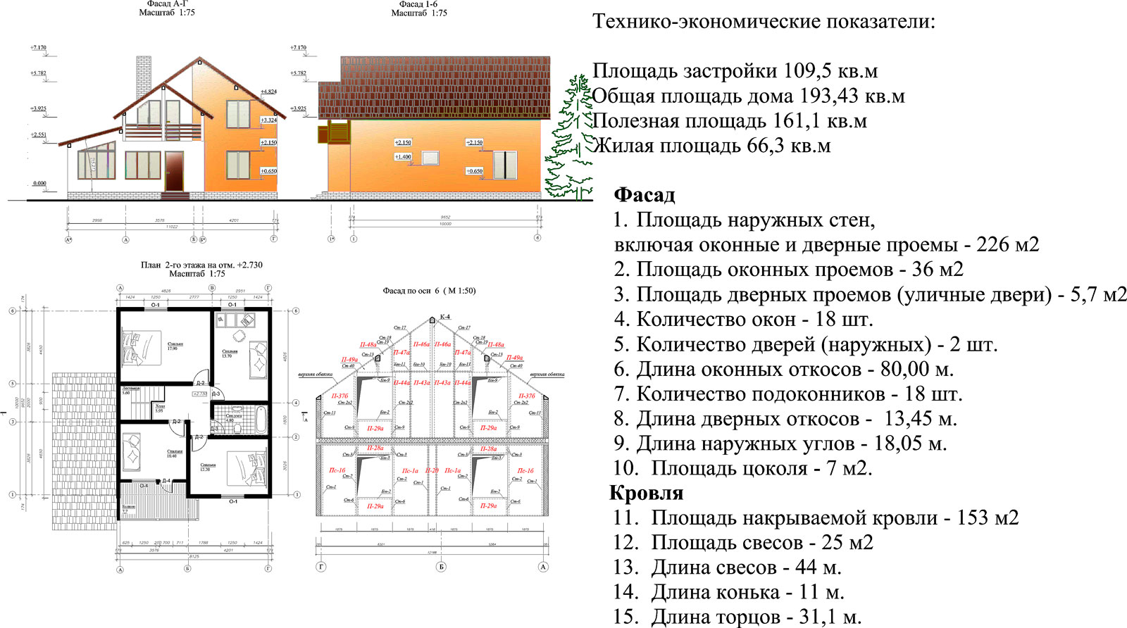 Каркасный дом проекты чертежи
