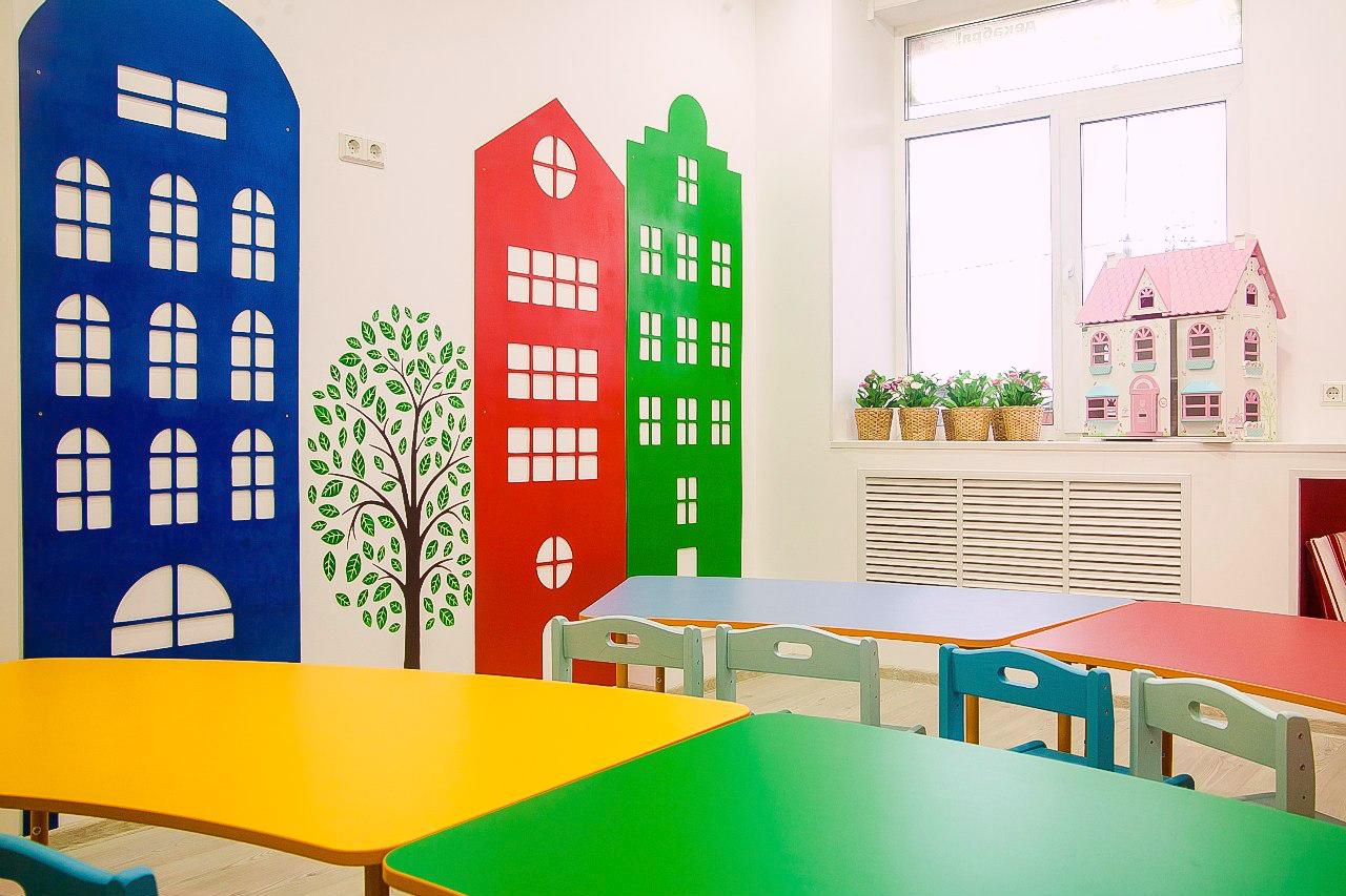 вычитала условия размещения начальныз классов в сдании детского сада слой