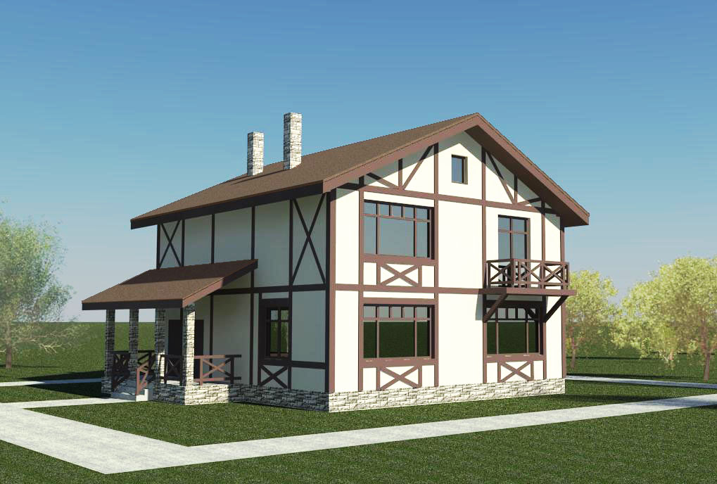 Немецкие дизайны домов