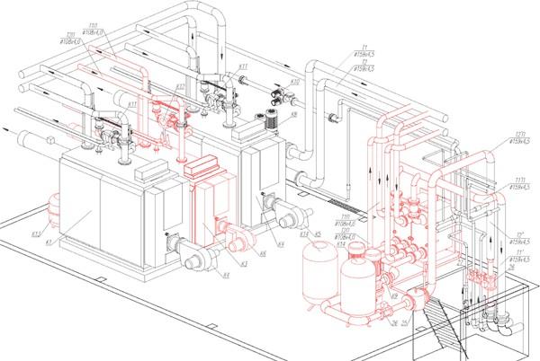 проект привязки блочной газовой котельной
