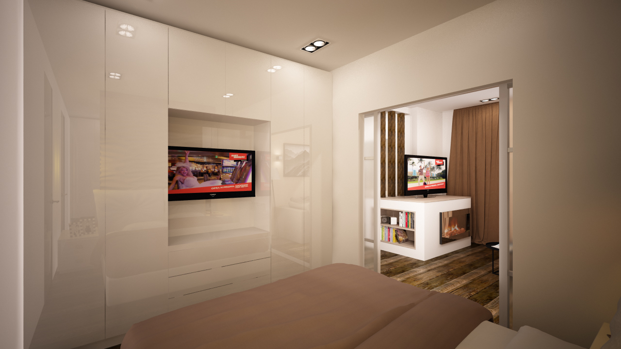 Читать далее дизайн стандартной однокомнатрой квартиры конечного потребителя
