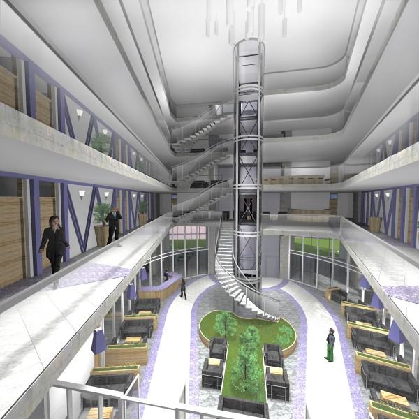 Дипломный проект Атриум гостиницы Фрилансер Елена  Дипломный проект Атриум гостиницы