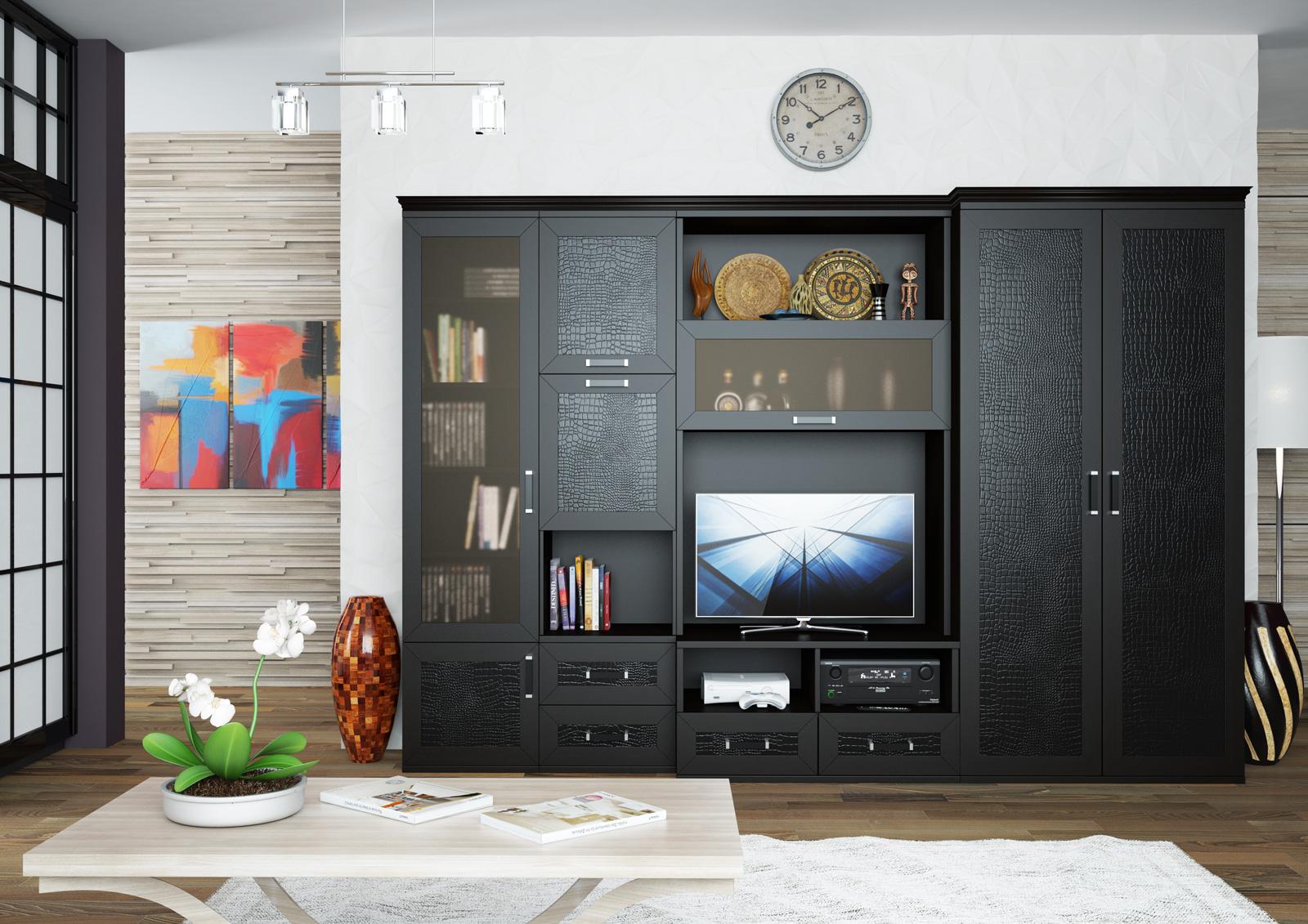 """Мебельная фабрика """"центурион 99"""", г. пенза / гостиная стенка."""