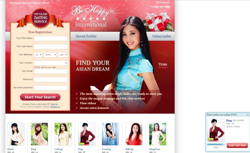 Asian international dating sites