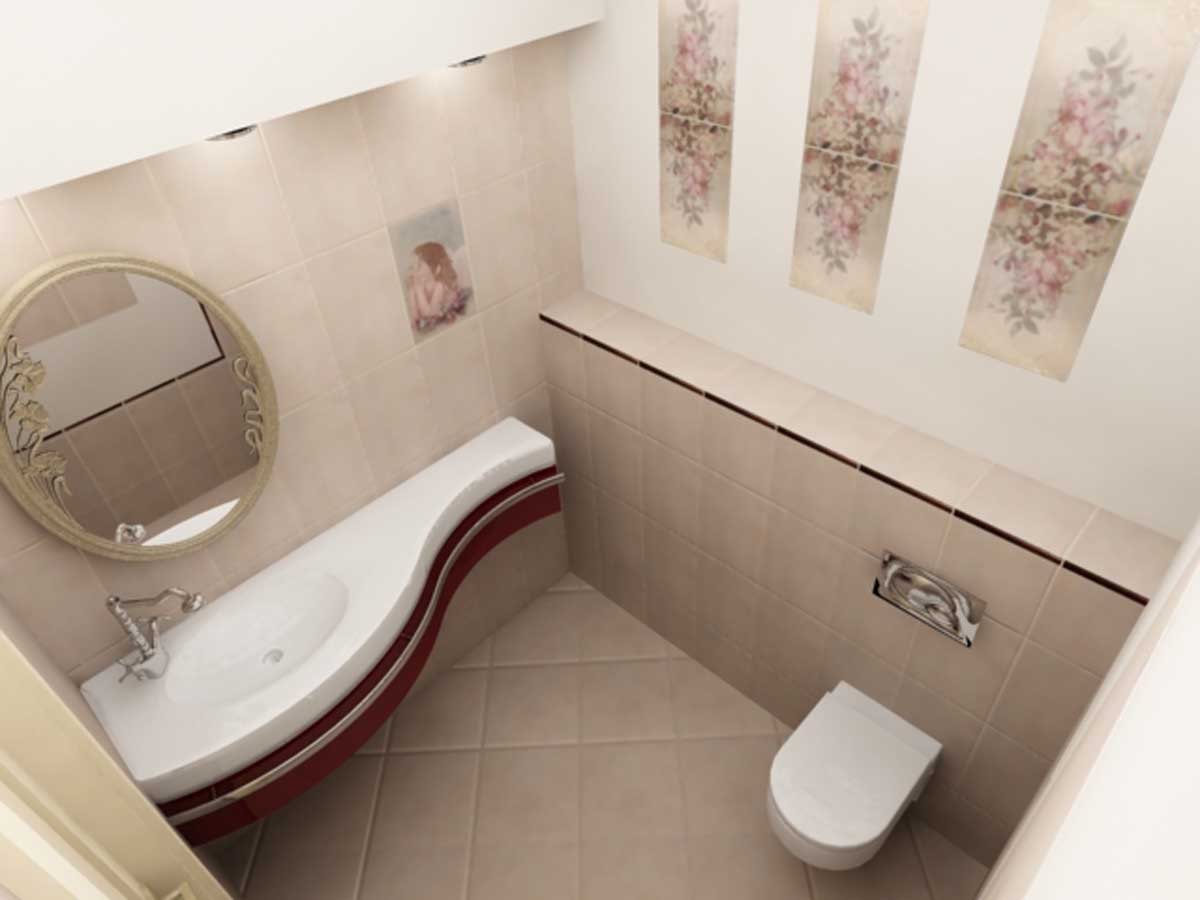 Фото дизайн гостевого санузла
