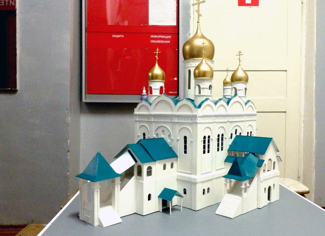 Церковь своими руками картинки