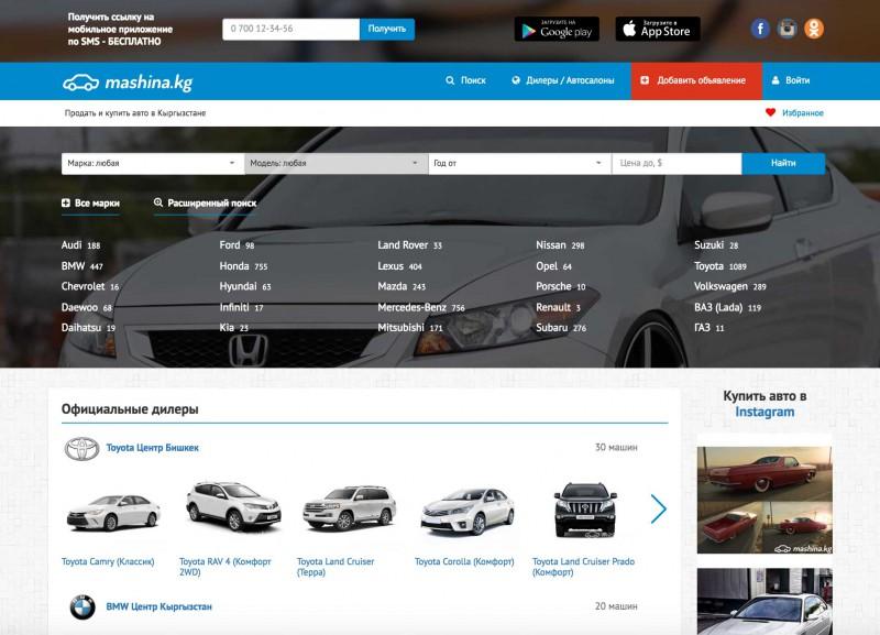 Сайты о продаже автомобилей