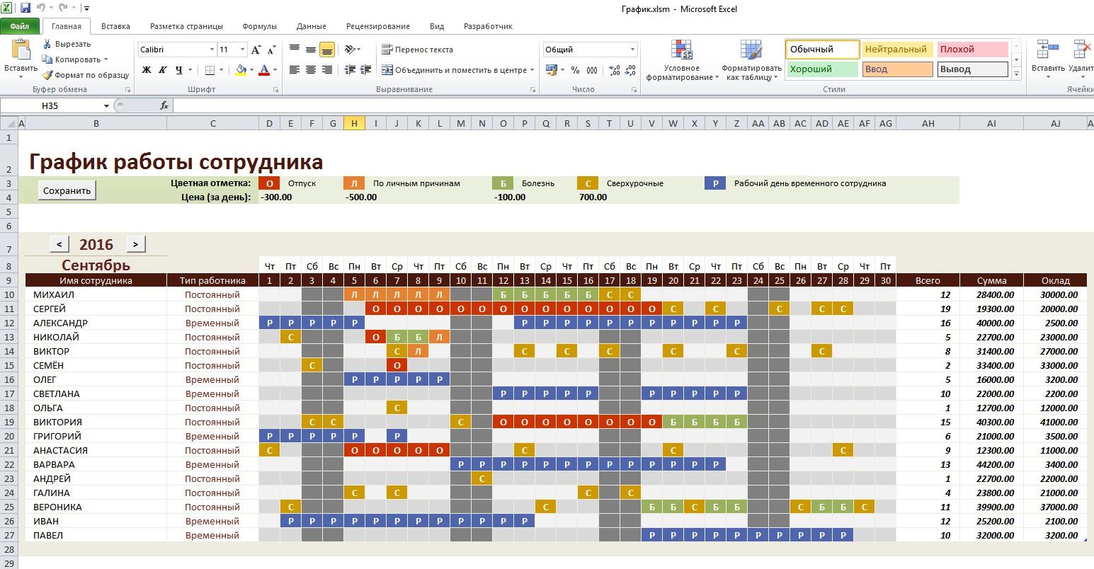 Как составить расписание на каждый день и ни разу его не 63